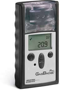 GasBadge Pro single-gas portable gas detector