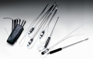Portable gas detector probes
