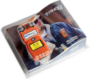 Tango TX1 portable gas detector packaging