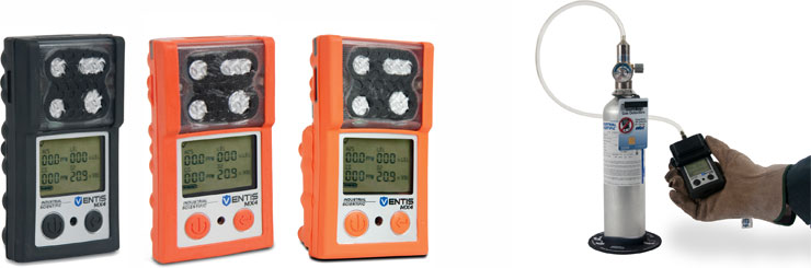 Ventis MX4 multi-gas portable gas detector