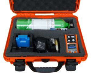 Confined space gas detector kit