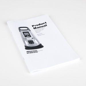 17155915 printed manual for Radius BZ1 Area Gas Monitor