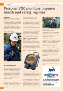 Article: Health and Safety Matters
