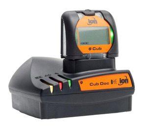 Cub PID Gas Detector - docked