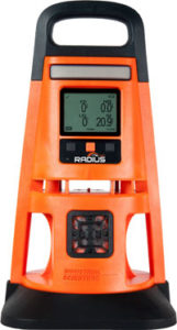 Radius BZ1 area gas monitor