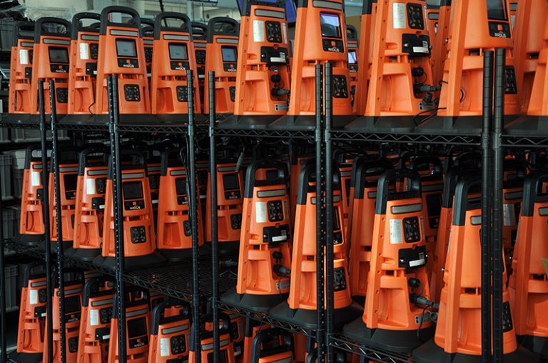 Radius gas detector fleet