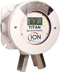 Ion Science Titan benzene exposure monitoring