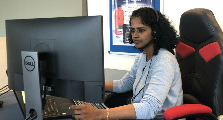 Lavanya Devaraj - gas detection sales rep