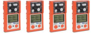 Ventis MX4 4-gas Gas Detector in Safety Orange