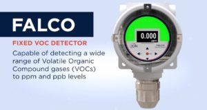 Falco fixed VOC gas detector
