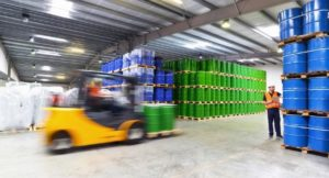 Fixed gas detection in chemical storage and distribution facility