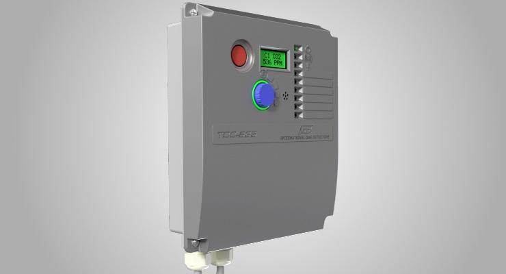 IGD Tocsin 635 gas-detection control panel