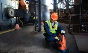 Area gas monitors help ensure connected worker safety