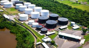 Fixed gas detection in chemical and petroleum terminal facility