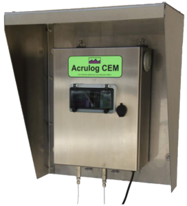 Acrulog Continuous Emissions Monitor (CEM) Gas Data-Logger