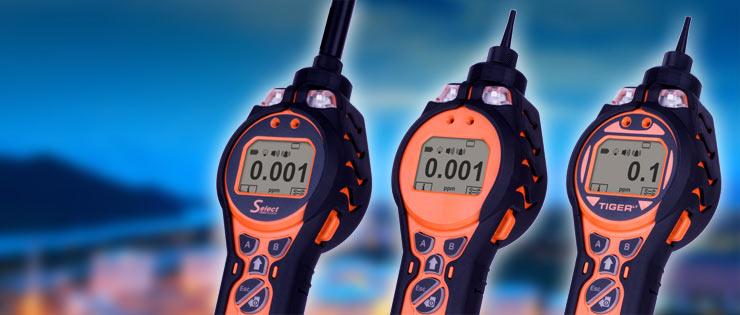 Ion Science Tiger PID gas analyser detector rental