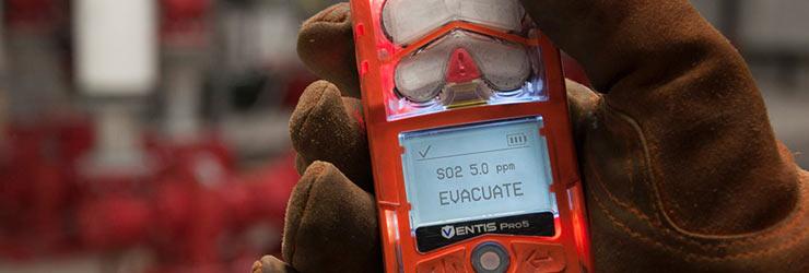Ventis Pro5 gas detector rental