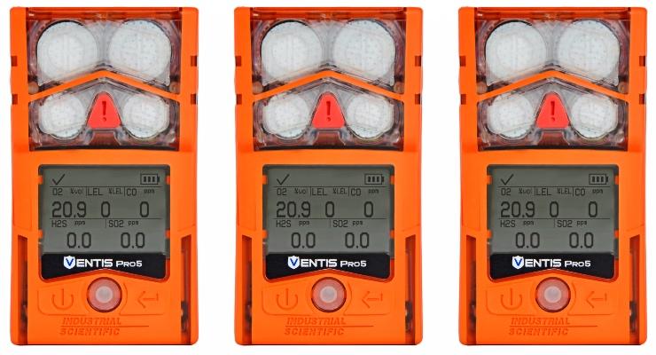 Ventis Pro5 personal gas monitors