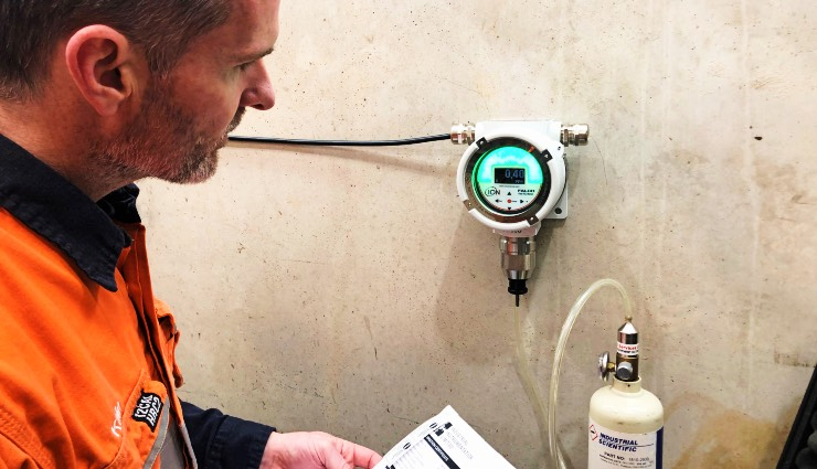 Kain Eilering, fixed-point gas detection service team