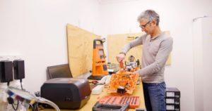 Paul Marinovich, gas detection service team